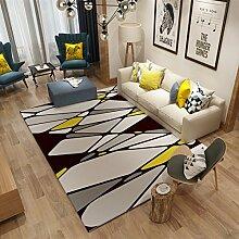 XDDAXYY Moderne IKEA Teppich Wohnzimmer Sofa
