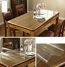 XDDAXYY Tischdecke,1.5mm Dicken Durchsichtige