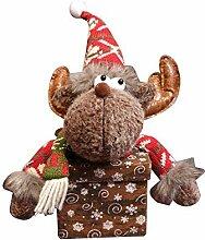 XDDQ Weihnachten Deko,Santa Ping Obst Box