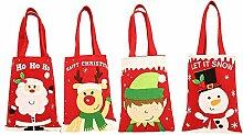 XDDQ Weihnachten Dekorationen Cartoon Aufkleber