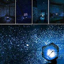 XDLUK Sternenprojektor Projektionslampe USB