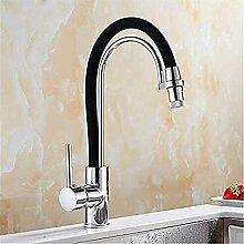 XDOUBAO Faucet Chrom Küchenspüle Wasserhahn
