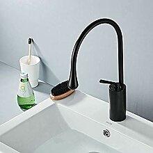 XDOUBAO Faucet Messing Bad Monobecken Waschbecken