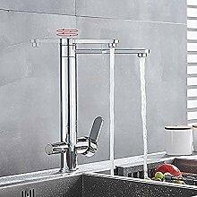 XDOUBAO Faucet Wasserhahn 360 Grad Wasserfilter