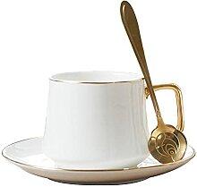 XDYNJYNL Keramische Kaffeetasse und Untertasse