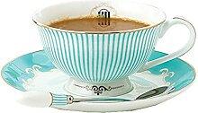 XDYNJYNL Keramische Kaffeetassen und Untertasse