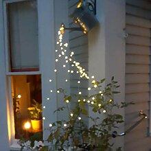XeinGanpre - Kupferdraht-Gartenlicht-Girlande,