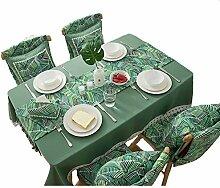 XF Tischdecke Ursprüngliche Baumwolle Leinen Art