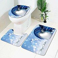 xffd Bad Teppiche Badematten Weihnachten Englisch