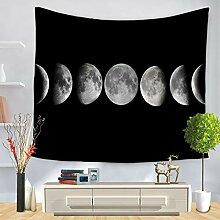 XFGHN Home Tapestry Moon ändern Muster drucken