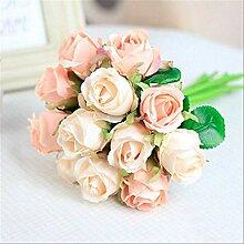 XFLOWR 12 Teile/los Seidenblume Künstliche Blumen