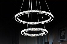 XFZ Moderne LED-Kristallleuchter leuchtet Lampe