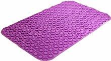 XG Badematte Toilette Bad Dusche Badematten Duschmatten Bodenmatten mit Saugnäpfen kaufen One Get One , purple , 58*88cm