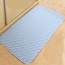 XG Badematte Toilette Bad Dusche Badematten Duschmatten Bodenmatten mit Saugnäpfen kaufen One Get One , light blue circle , 46*77