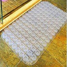 XG Haushalt Kunststoff-Matte Badematte Bad Dusche Badematten Duschmatten mit Saugnäpfen Fußmatte kaufen One Get One