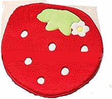 XG Kleine Erdbeere Fußmatte Hause Kind Kreativität Kissen rutschfeste Badematte Schlafzimmer Teppiche Matten