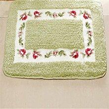 XG Kreative Hause Gartenrosen absorbierenden Matten Fußmatte Matte Badematte Teppich Eingang zu Hause Wasser , 7 , 40*60cm