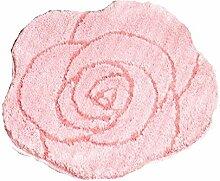 XG Rose Mikrofaser Badematte Antirutschmatten handgefertigter Teppiche