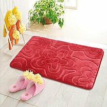 XG Stereoskopische 3D-dicker Baumwolle Badematte Teppich-Fußmatten , 3
