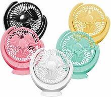 XGJFENGSHAN Kopfschütteln Kleiner Ventilator