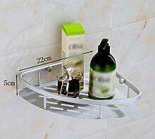 XGMSD Bad-Accessoires Zweistöckiges Dreieckiger Korb Bad Regal Bad Eckregal Badezimmer Vier Körbe Handtuchhalter Bad Rack Bad Rack,D
