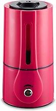 XGMSD Ultraschall-Luftbefeuchter Stumm Anion Luftreiniger Durchmesser 16cm Hohe 30cm.,Pink