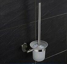 XGMSD WC Reinigungsbürste Bad-Accessoires WC-Bürstenhalter Edelstahl Toilettenbürste WC-Bürstensatz