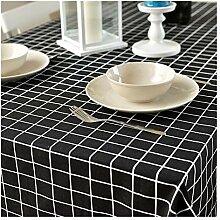 XH Shop Einfache Wasserdichte Tischdecke mit