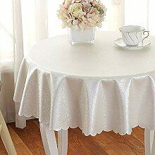 XHC Runde Tischdecken wischen sauber, Öl Tuch