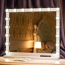 XHCP Kosmetikspiegel, beleuchteter Kosmetikspiegel