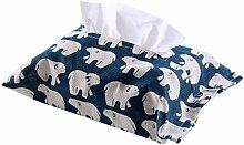 XHCP Tissue Box Wohnzimmer Stoff Aufbewahrungsbox