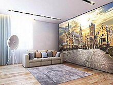XHXI 3D Wallpaper Foto Wandbild European City