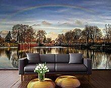 XHXI 3D-Wandbilder Tapete für Wohnzimmerwände