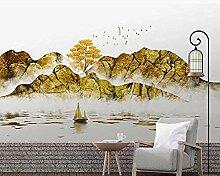 XHXI Chinesische goldene Seitenwand Tapete