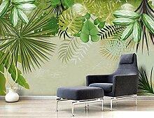 XHXI Frische Regenwald Pflanze Bananenblatt Green