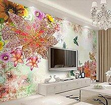 XHXI Luxus Schmuck Seitenwand Tapete
