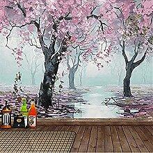 XHXI Wandbild Tapete Blumen benutzerdefinierte
