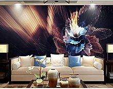 XHXI Wandbild Tapete Bunte Blumen Wandbilder
