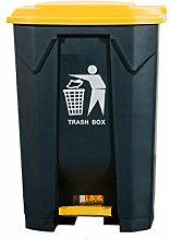 Xi Qu Große Mülleimer - Kunststoff Doppelschicht