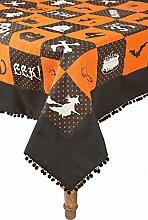 Xia Home Fashions Halloween Patchwork Tischdecke,
