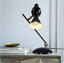 xiadsk Moderne Vogel tischlampe Elster lesetisch
