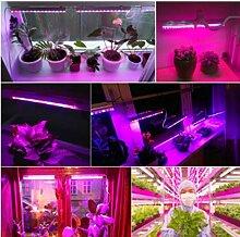 xiadsk Vollspektrum-LED-Lampe zum Pflanzen von