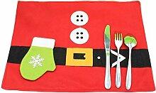 XIAHE Tischset Weihnachten Tischset Schüssel