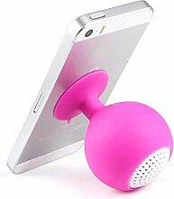 Xiak Portable Mini Wireless Sucker Bluetooth