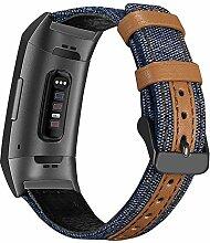 XIALEY Kompatibel Mit Fitbit Charge 3