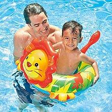 XIALIUXIA Aufblasbares Kinderboot Tier,