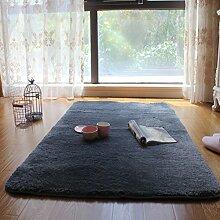 Xiandai teppich,Wohnzimmer Schlafzimmer Balkon Teetisch Eingang] Teppiche für kinderzimmer Bereichs-wolldecke-E 80x120cm(31x47inch)