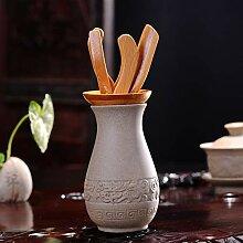 Xiang Ye Retro Grobe Keramik Tee-Zubehör Bambus