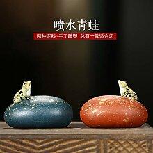 Xiang Ye Tea Haustier Ornamente Tee spielen Spaß