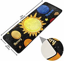 XiangHeFu Fußmatte Universe Planet Space Elements